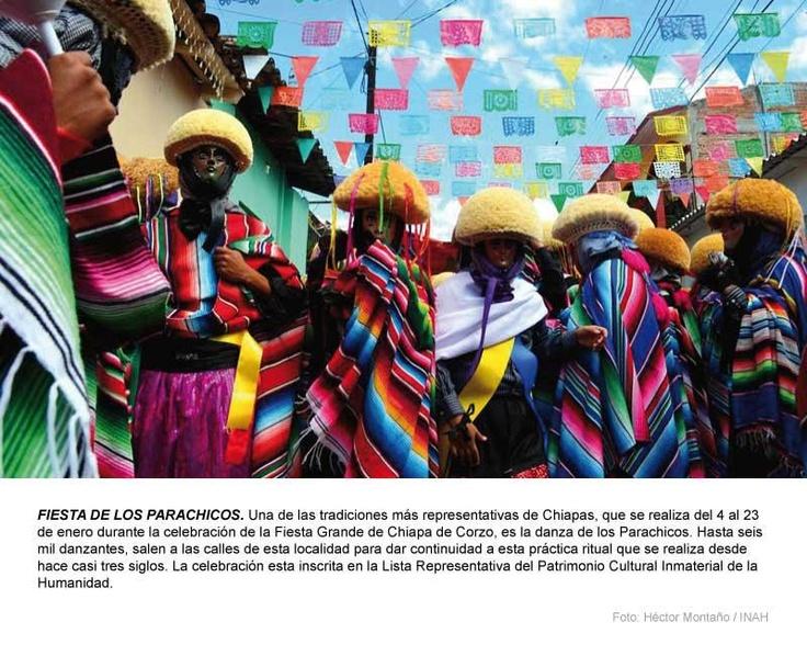 FIESTA DE LOS PARACHICOS.: Project, Anthropology, Singing, Parties, Los Parachicos, Mexico, Of The