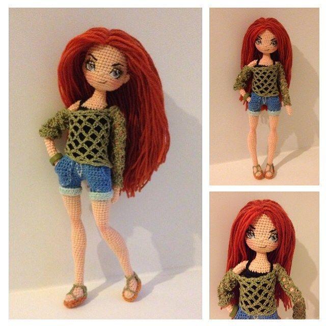 Amazing crochet dolls. Oksana Somati
