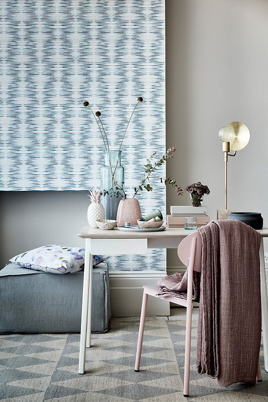 Sally Denning's interior shots are breathtaking. Check out how lovely our Checker rug looks amongst all those soft pastel shades!