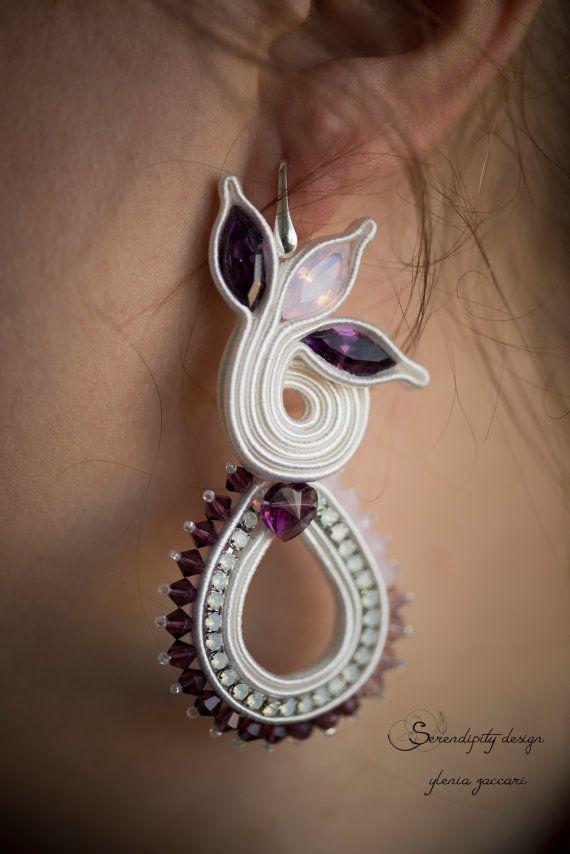 Diana earrings by SerendipitydiYlenia on Etsy