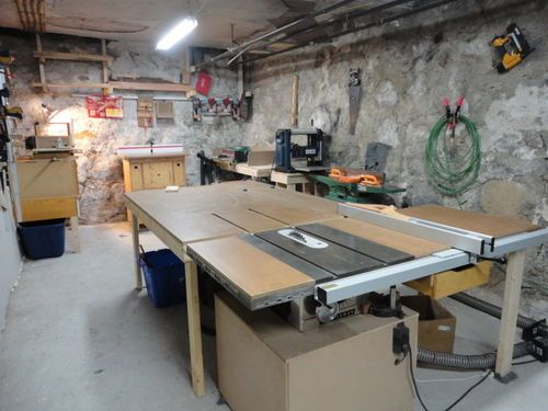 "1966 Craftsman 10"" Table Saw - modified - by steve6678 ..."