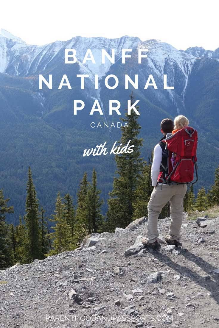Canada's Banff National Park with Kids