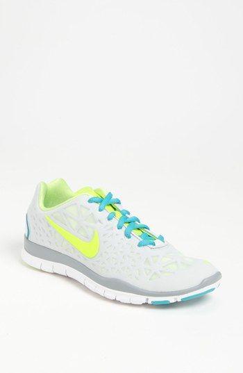 So bold. Nike Free TR Fit 3 training shoe.