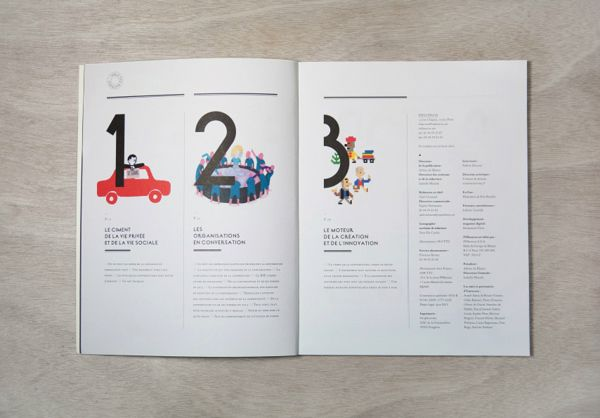 Influencia / La conversation by Violaine & Jeremy , via Behance