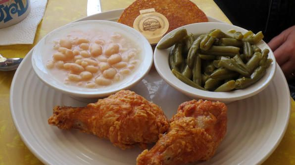 """Bon-Ton Mini Mart owner Donna King is known far and wide as the """"chicken lady."""" Her recipe for fiery fried chicken is definitely giving the other Kentucky cluckers a run for their money."""