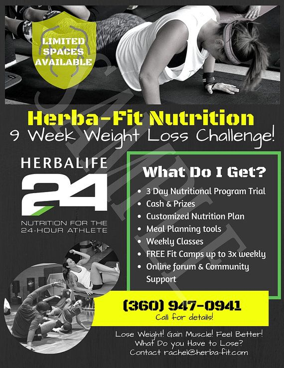 17 best images about herbalife flyers on pinterest eyes for Weight loss challenge flyer template