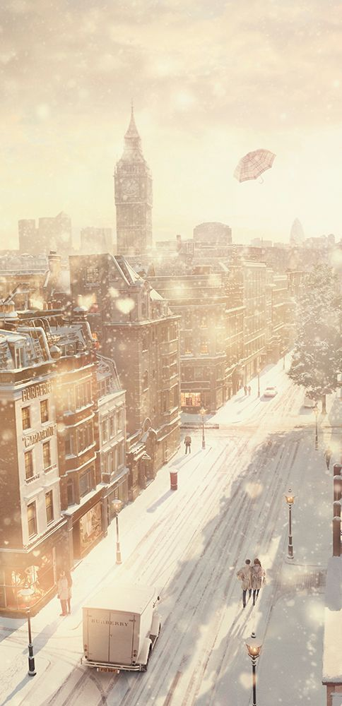 The festive season is here, from Burberry with love