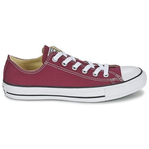 Chuck Taylor All Star Ox Mode En Cuir - Chaussures De Sport Voor Heren / Bordeaux Converse