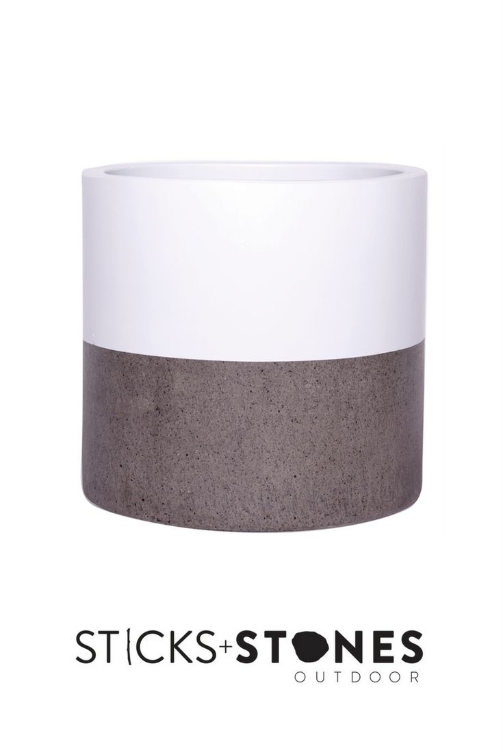 With a beautiful hand painted design, our Cylinder Pot is perfect for any indoor/outdoor landscape. It comes in small, medium and large sizes and stylish colours to choose from such as Black Band, Black Top Dip, Natural/Unpainted and White Band. At Sticks + Stones Outdoor, we travel the globe to source the most stunning, affordable, practical and stylish items to help you create your own beautiful outdoor space.#outdoordecor#homestyling#homeideas#pots#pottery