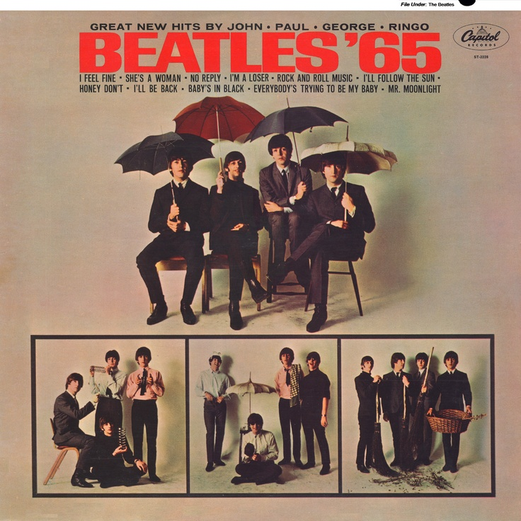 Beatles 65 1964 Capitol Contains She S A Woman