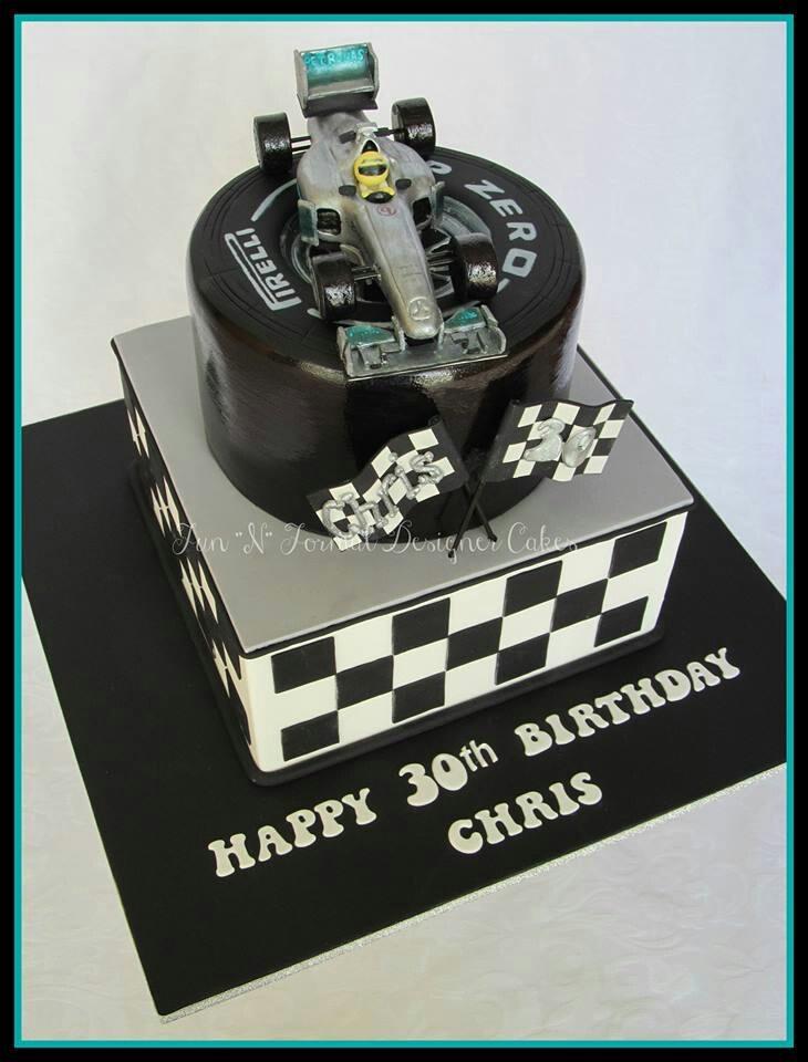 #F1 Racing car cake. Awesome. #ShowMeTheCarCake
