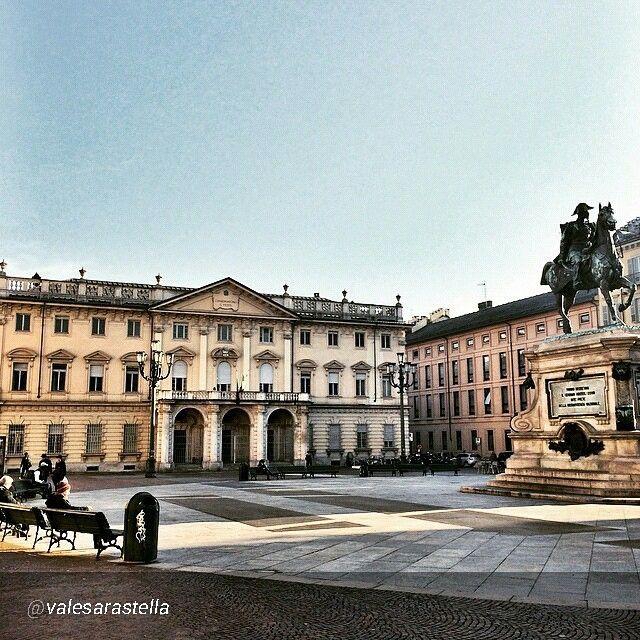 Piazza Bodoni - Torino, Piemonte, Italia.