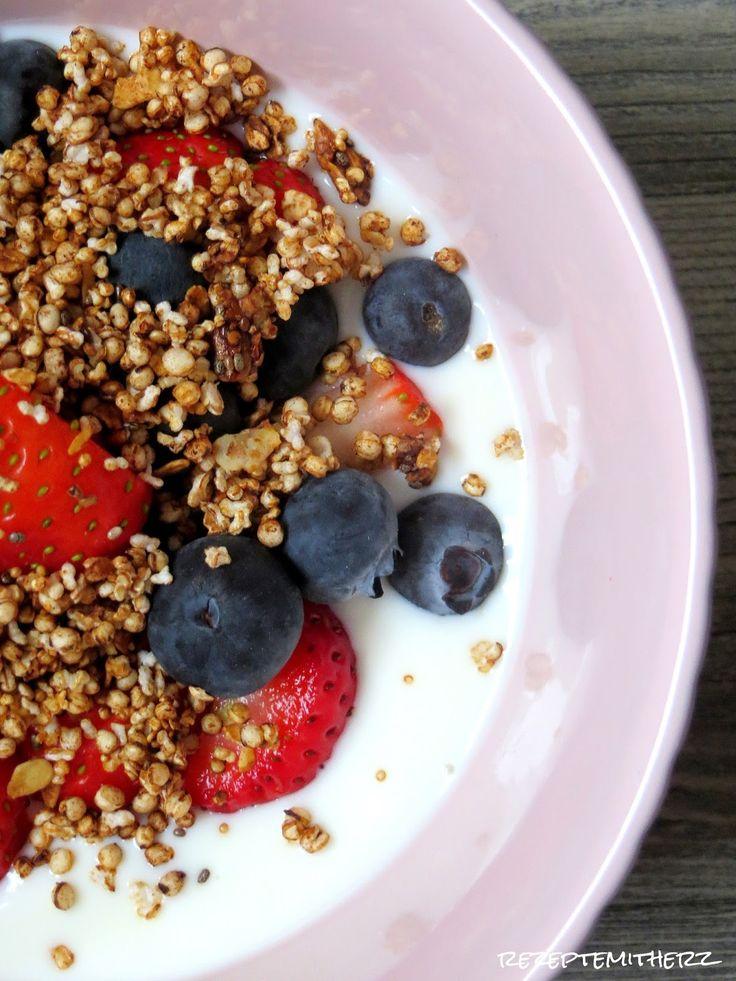 Rezepte mit Herz ♥: Quinoa Müsli