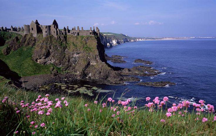 Dunluce Castle, Ireland: Dreams Places, Castles Ruins, Castles In Ireland, Dunluce Castles, Medieval Castle, Ireland Castle, Northern Ireland, Antrim Ireland, County Antrim