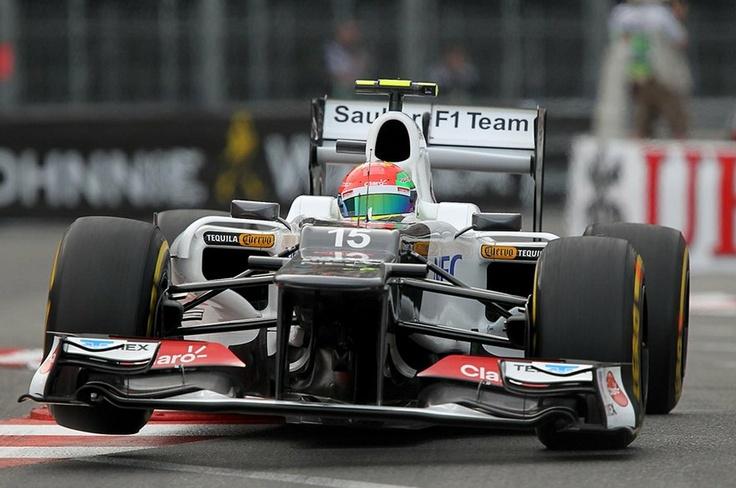 Sergio Perez Sauber F1 2012