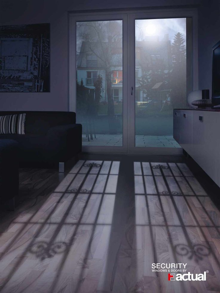 Actual Security Windows: Living room