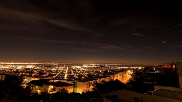 San Francisco Moonrise to Sunset Time Lapse by Siddhartha