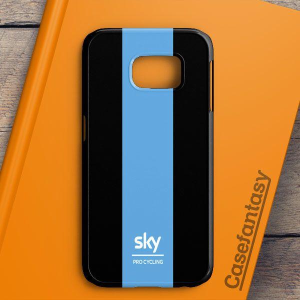 Team Sky Bike Pro Cycling Samsung Galaxy S6 Edge Case | casefantasy
