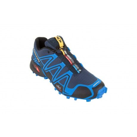 With less bulkiness to slow you down, Salomon's Speedcross 3 provides just enough cushioning to keep your feet comfortable and well supported. The Sensifit outer design with one-pull Quicklace system provides a snug and secure fit, while an aggressive Contagrip rubber tread ensures superior speed and traction on the trail.