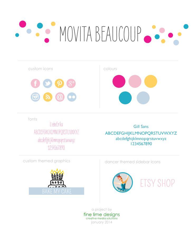 Movita Beaucoup rebranding   Fine Lime Designs