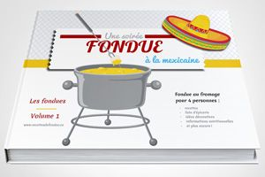 Cette recette de fondue aux boulettes de veau se prépare dans l'huile, tout comme la fondue bourguignonne, et elle est servie avec des trempettes.