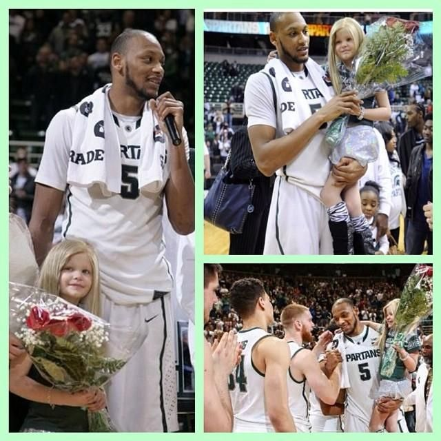 Michigan State's Adreian Payne and Princess Lacey's friendship will warm your soul