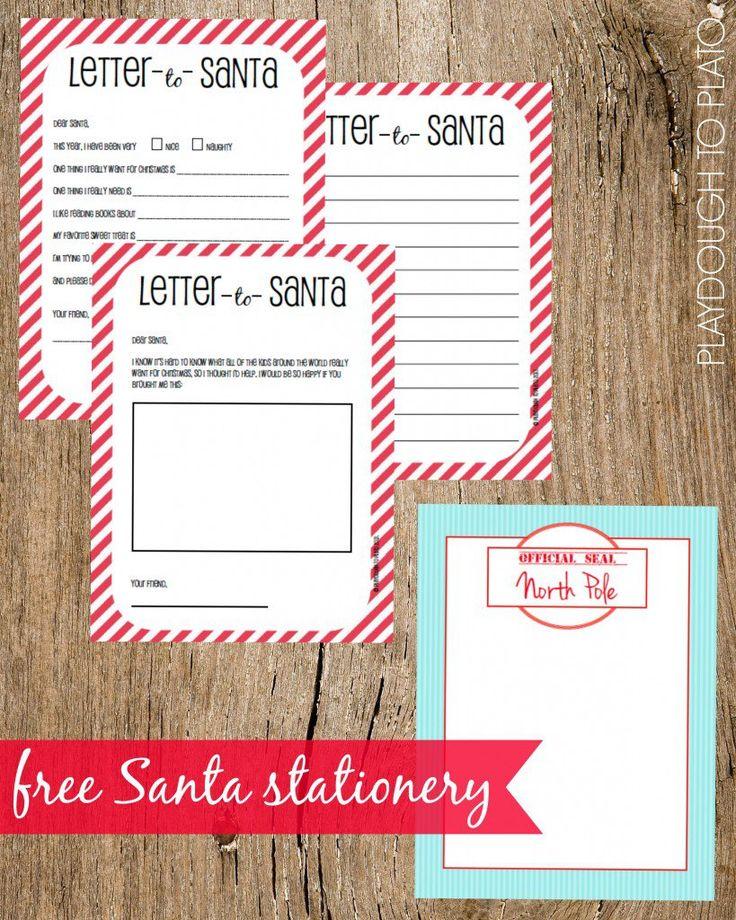 Best 25+ Free printable santa letters ideas on Pinterest Santa - santa letter template