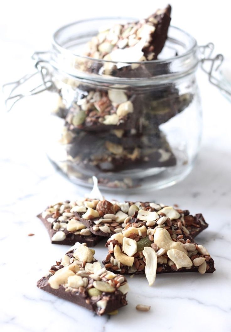 Seriously Good Salted Chocolate Bark - The Style Insider