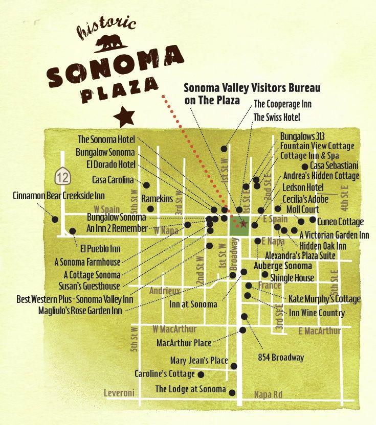 Sonoma Hotels Near The Square