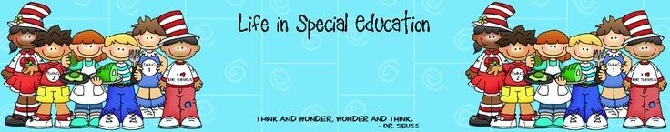 Life in Special Education blog: Classroom Idea, Schools Blog, Education Stuff, Horror Stories, Education Idea, Schools Idea, Education Blog, Special, Instructions Idea