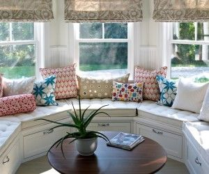 amazing traditional breakfast nook pillows inspiration