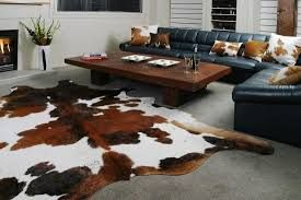 Image result for cowhide home decor