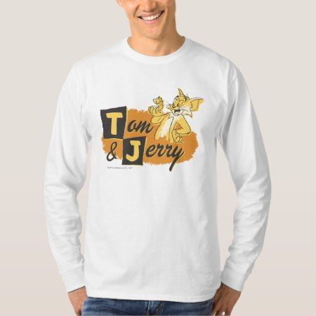 Tom and Jerry Mouse In Paw Logo T-Shirt - click to get yours right now!