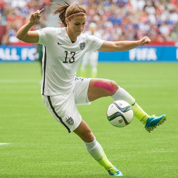 Alex Morgan Baby Braids - World Cup-Tested Hairstyles to Rock at the Gym | Shape Magazine