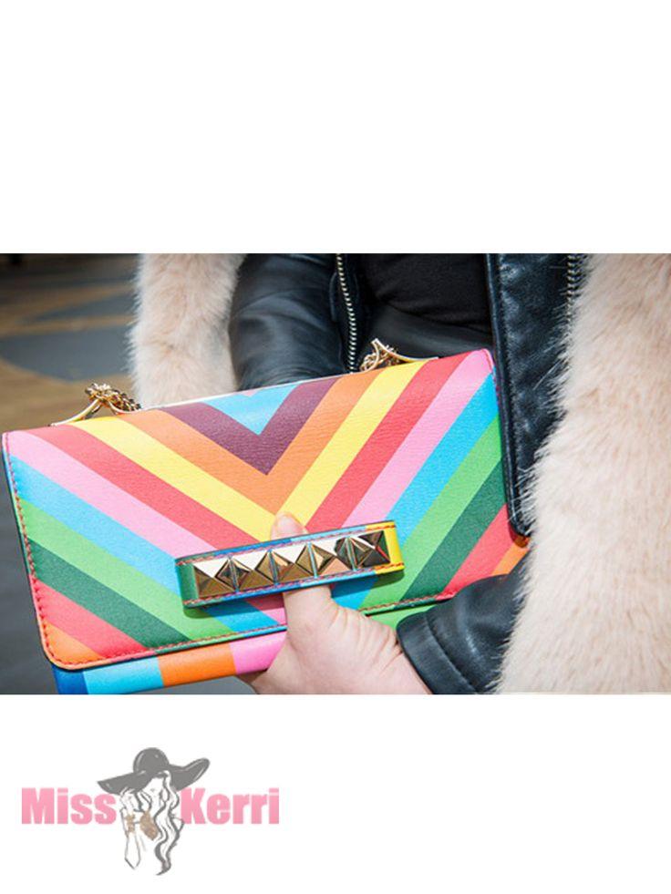 Клатч Valentino VaVaVoom Rainbow купить, цена, интернет-магазин, отзывы