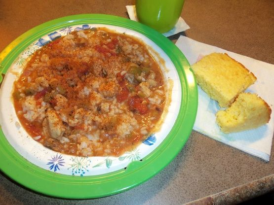 Quick And Easy Chicken-Sausage Gumbo Recipe - Food.com