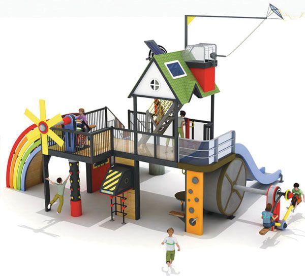 Almeerse kinderen spelen bewuster in nieuwe speeltuin die zichzelf terug verdient door energieopwekking: greenerideal.com/lifestyle/home…