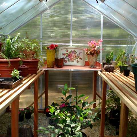 greenhouse - shelving