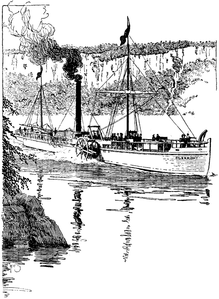 Robert Fulton and the Steamboat Engine