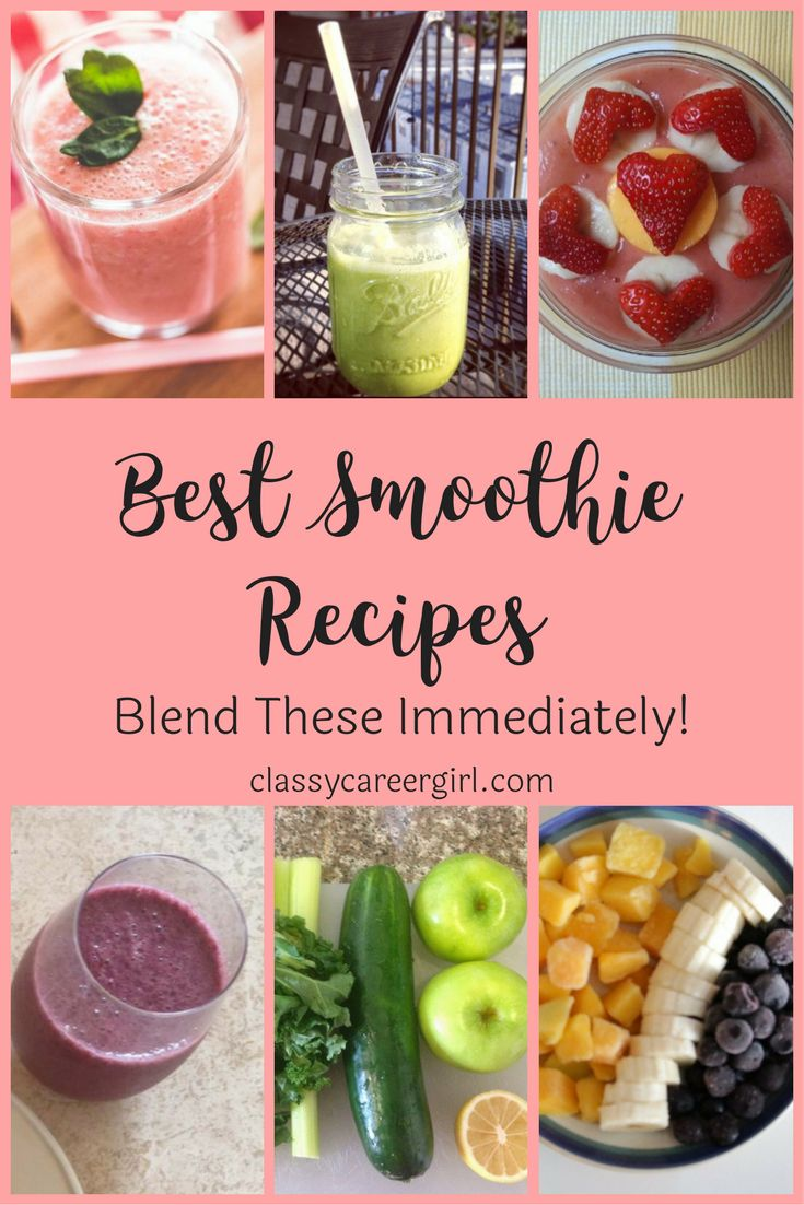11 best shopping lists images on pinterest health foods healthy choosing the best smoothie recipes for your family is rewarding here are the 7 best fandeluxe Image collections