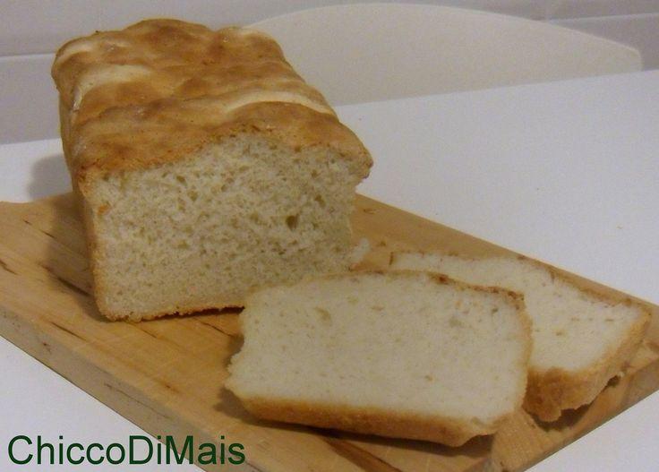 Pane in cassetta senza glutine ricetta con Mdp o a mano il chicco di mais http://blog.giallozafferano.it/ilchiccodimais/pane-in-cassetta-senza-glutine-ricetta-con-mdp-o-a-mano/