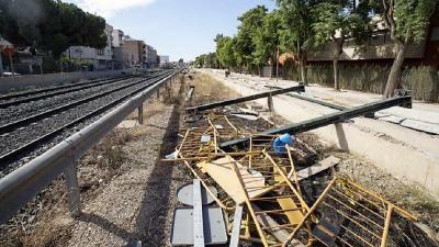 Murcia, incomunicada por tren con Cartagena, Alicante, Madrid y Barcelona
