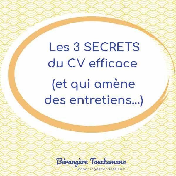 Precis Concis Clair La Formule Magique Du Cv Efficace Formules Magiques Questions Entretien Embauche Entretien Embauche