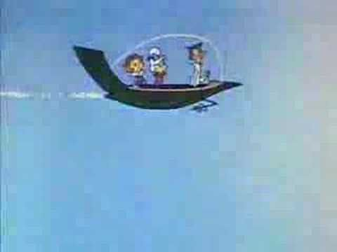 """Fascinating music composition, really... The Jetsons intro / sixties TV cartoon set in space... with """"Jane, his wife!"""""""
