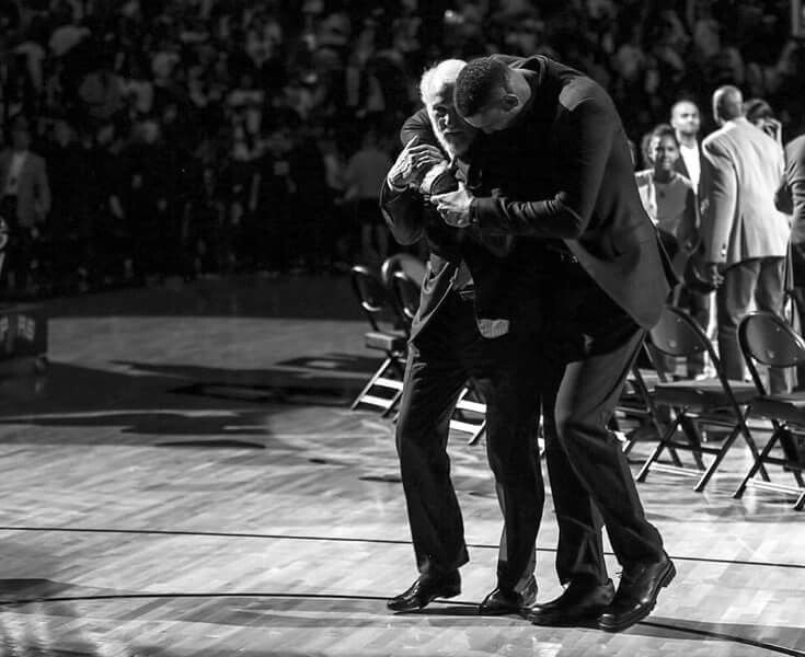 There'll never be another pair like these two. #ThankYouTD #SpursFanForLife