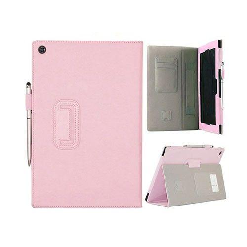 Alpha (Pinkki) Sony Xperia Tablet Z Nahkakotelo