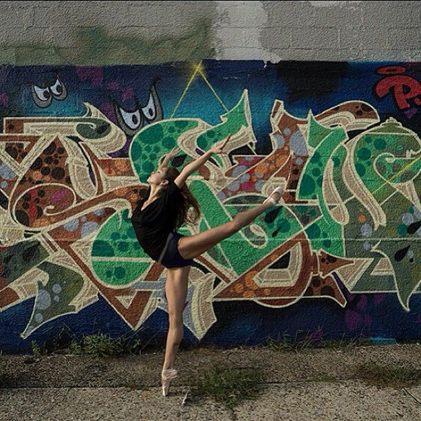 Ballet Photography Dancer Graffiti