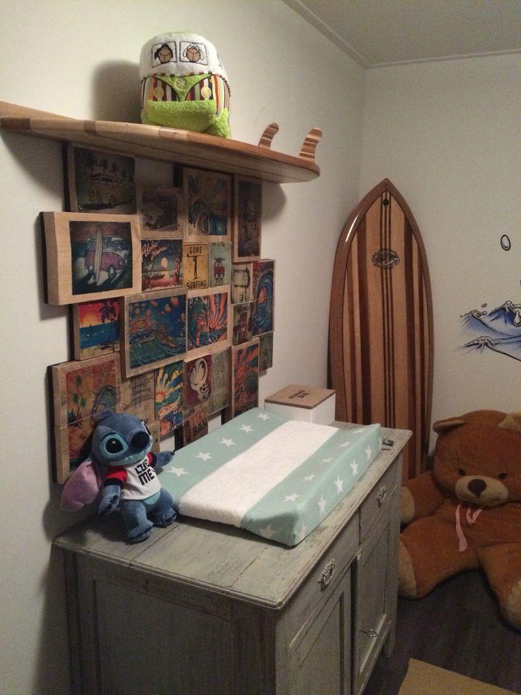 Surf babykamer