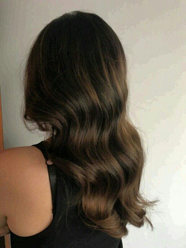 #babylights y #balayage cabello  Cstaño