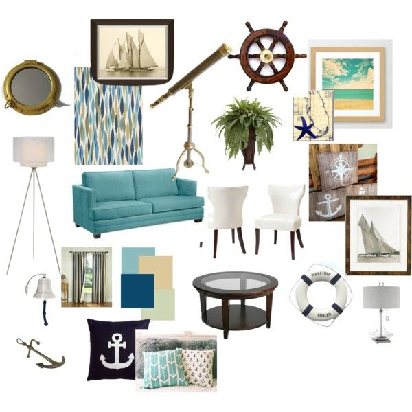 17 best images about nautical themed living room ideas on - Nautical theme living room ...